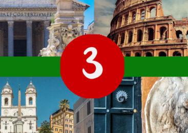 ŠTA VIDETI U RIMU ZA 3 DANA – preuzmite besplatan mini-vodič i obiđite Rim kao Rimljani!
