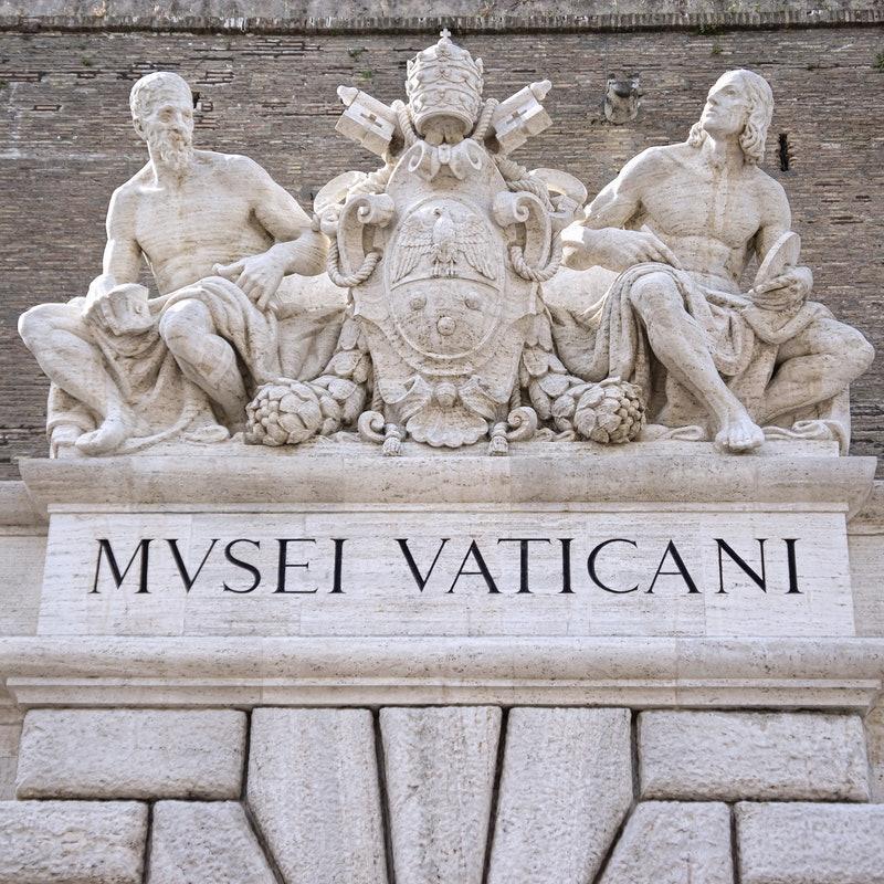 Tura Vatikanski muzej (na engleskom)