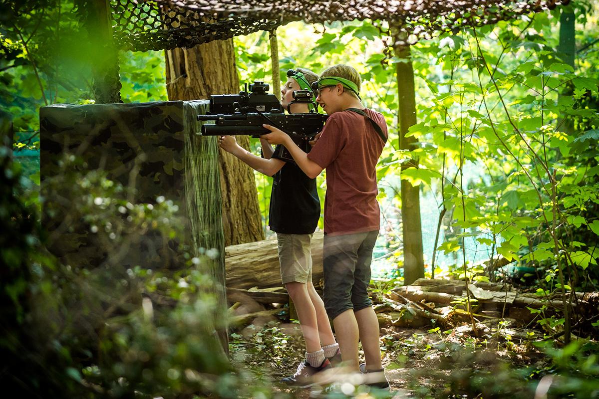 Malo borbe laserskim oružjem nikome neće škoditi (foto: www.eurpark.it/Facebook @eurparkadventure)