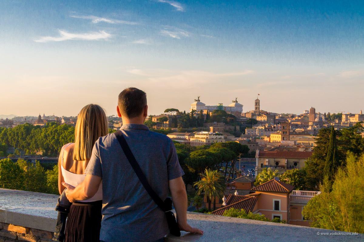 Panorama u Parku pomorandži (foto: Vodič kroz Rim)