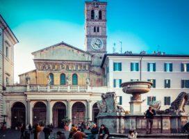 Crkva Santa Maria in Trestevere (foto: Vodič kroz Rim)