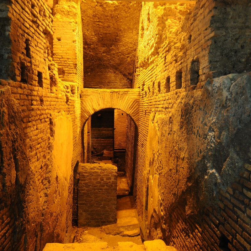 Tura katakombe i podzemlje Rima