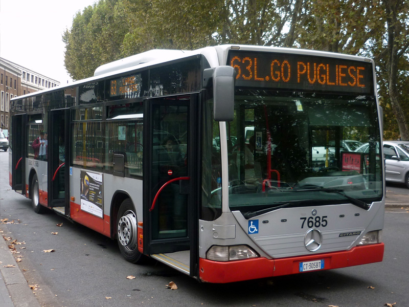 Gradski prevoz Rima - autobus