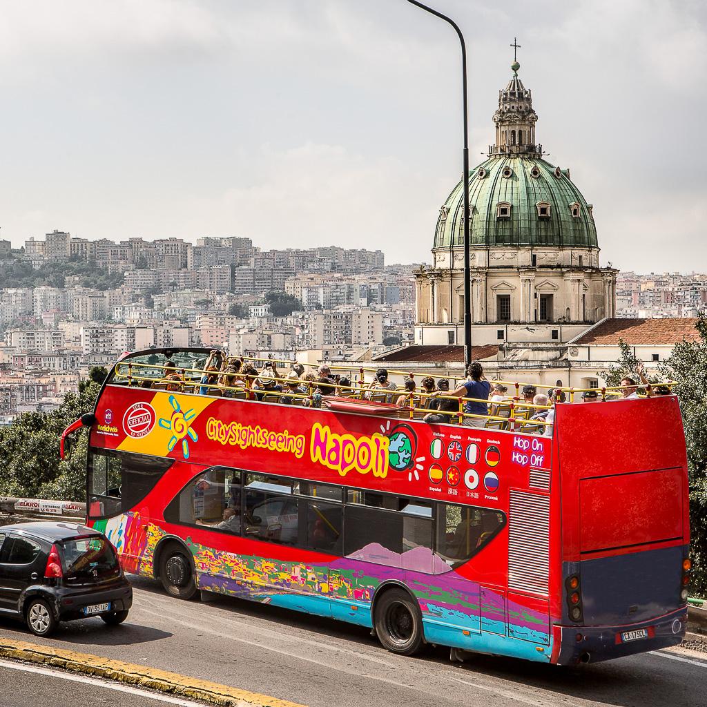 Obilazak Napulja autobusom: Hop on – Hop off 24 sata