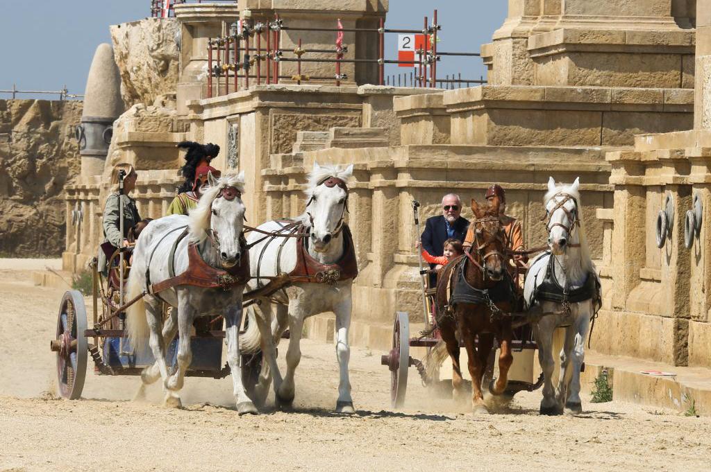 Ben Hur filmski set (foto: www.cinecittaworld.it)