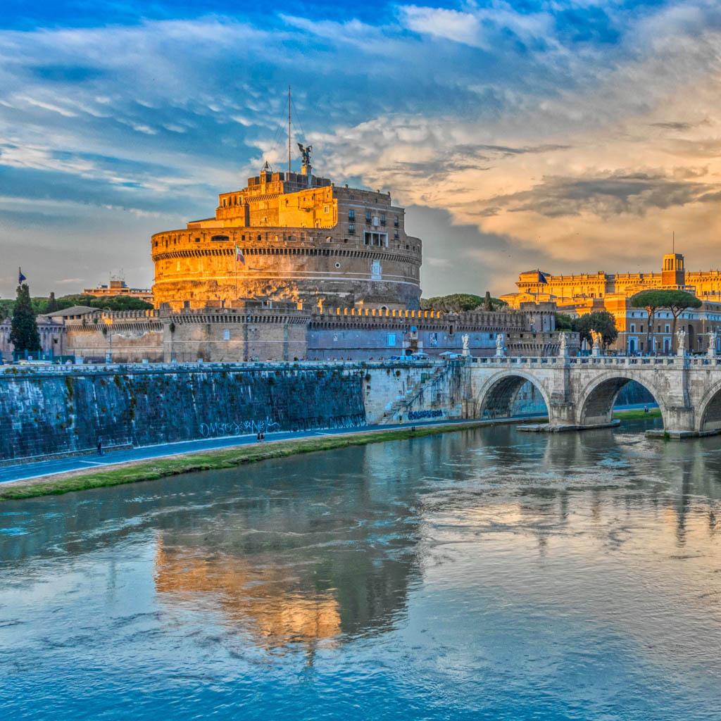 Anđeoska tvrđava u Rimu – od grobnice do papske palate