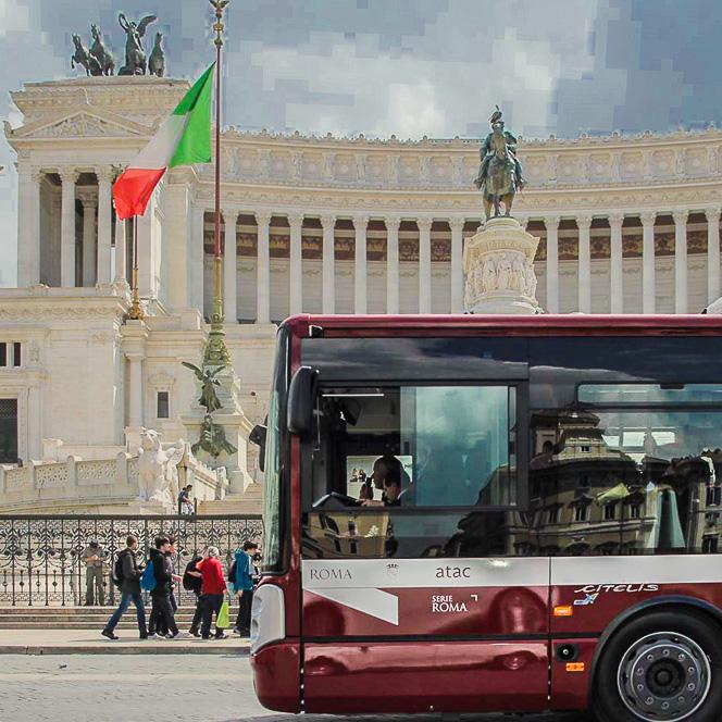Gradski prevoz Rima – opšte informacije, red vožnje autobusa, tramvaja, trolejbusa i metroa