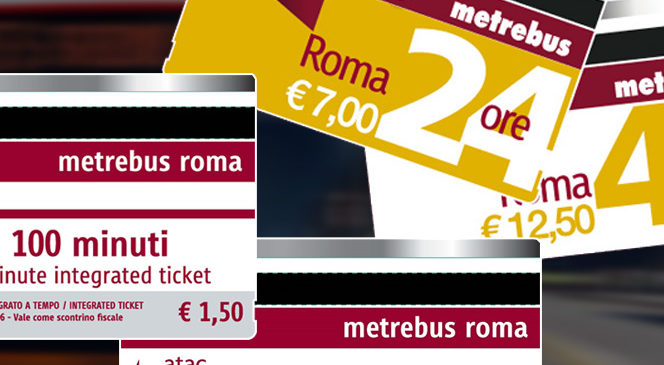 Karte za gradski prevoz Rima – cena, zone važenja, mesta kupovine