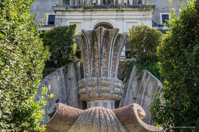 Vila d'Este u Tivoliju - Fontana velikog pehara