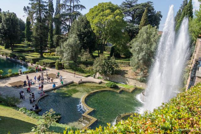 Vila d'Este u Tivoliju - Netunova fontana