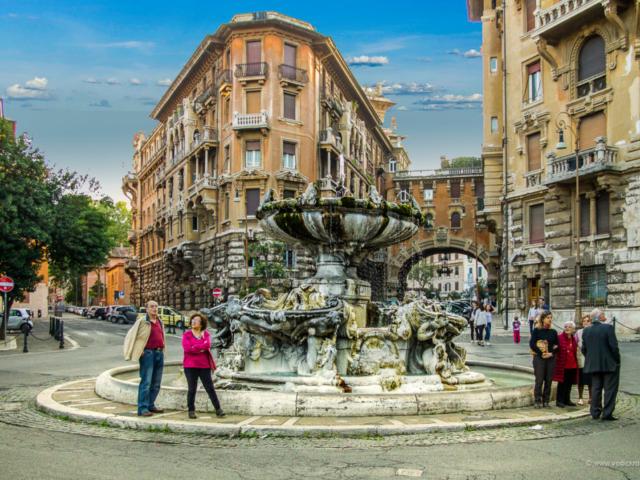 Kvart Kopede - Fontana žaba (Foto: Ivana Bubanj/Vodič kroz Rim)