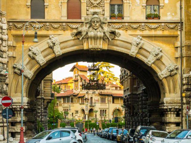 Kvart Kopede, Palate Ambasadora i luster (foto: Ivana Bubanj/Vodič kroz Rim)