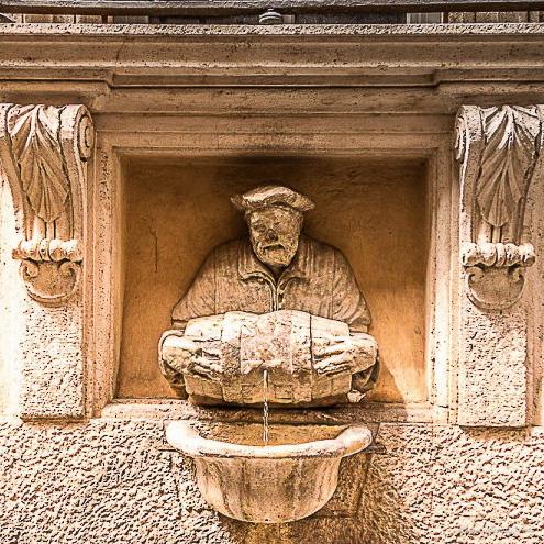 Statue koje govore – Vodolija (Facchino)