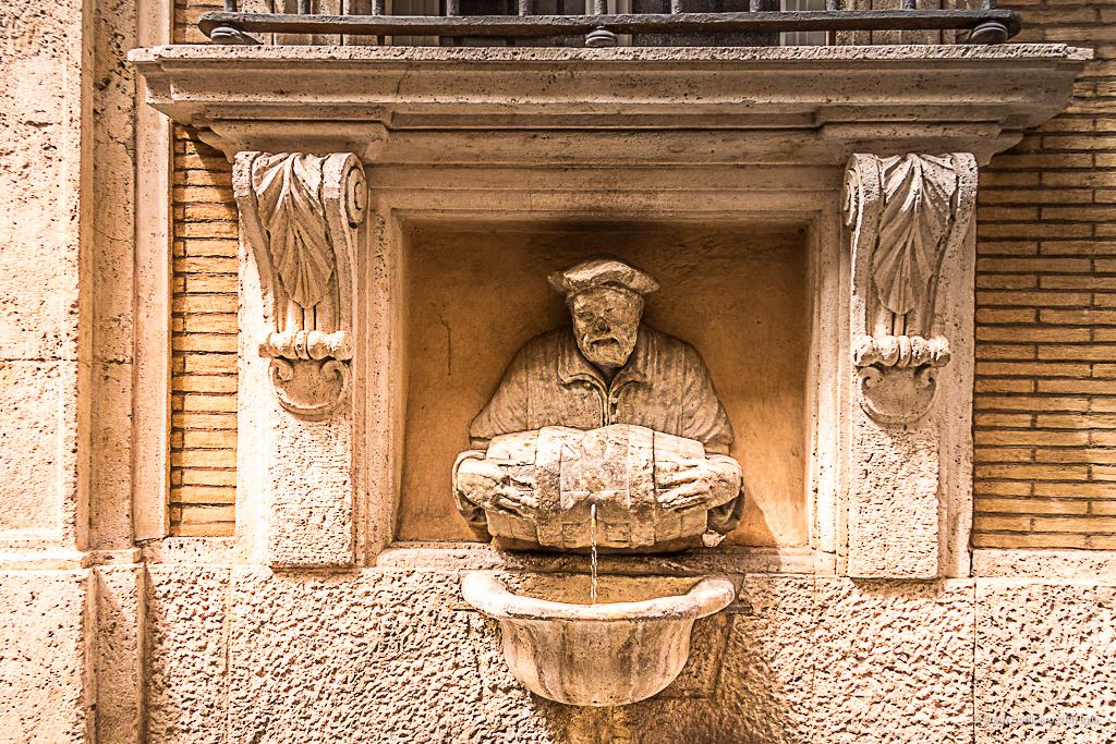 Statue koje govore - Vodolija (Facchino)
