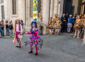 Trg Navona u Rimu - ulični spektakl