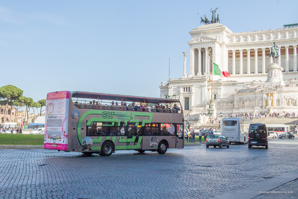 Green Line Tours panoramski autobus Rim
