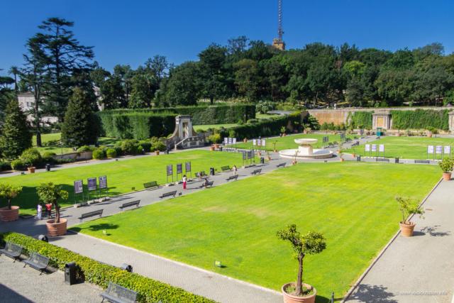 Vatikanski muzej - dvorište Belvedere