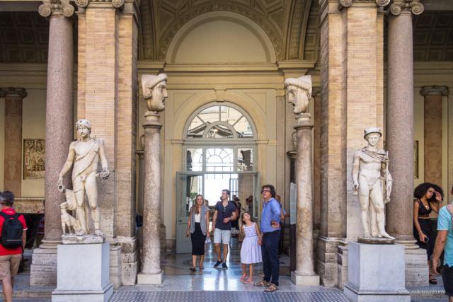 Vatikanski muzej - oktogonalno dvorište
