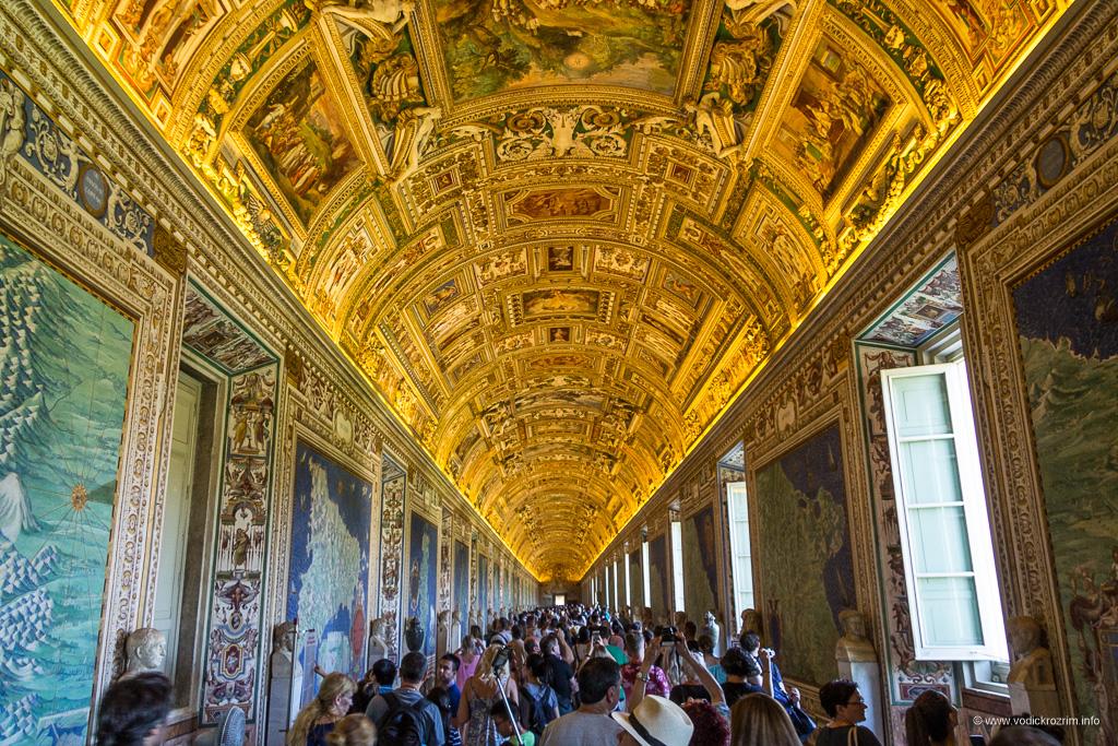 Vatikanski muzej - Galerija geografskih karata