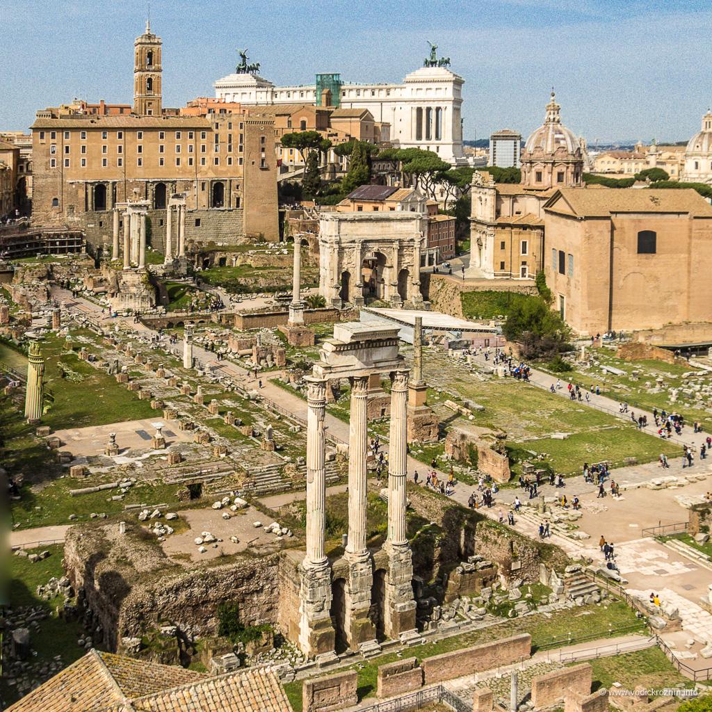 """Rimski forum – uspon i pad najvećeg """"biznis centra"""" antičkog Rima"""