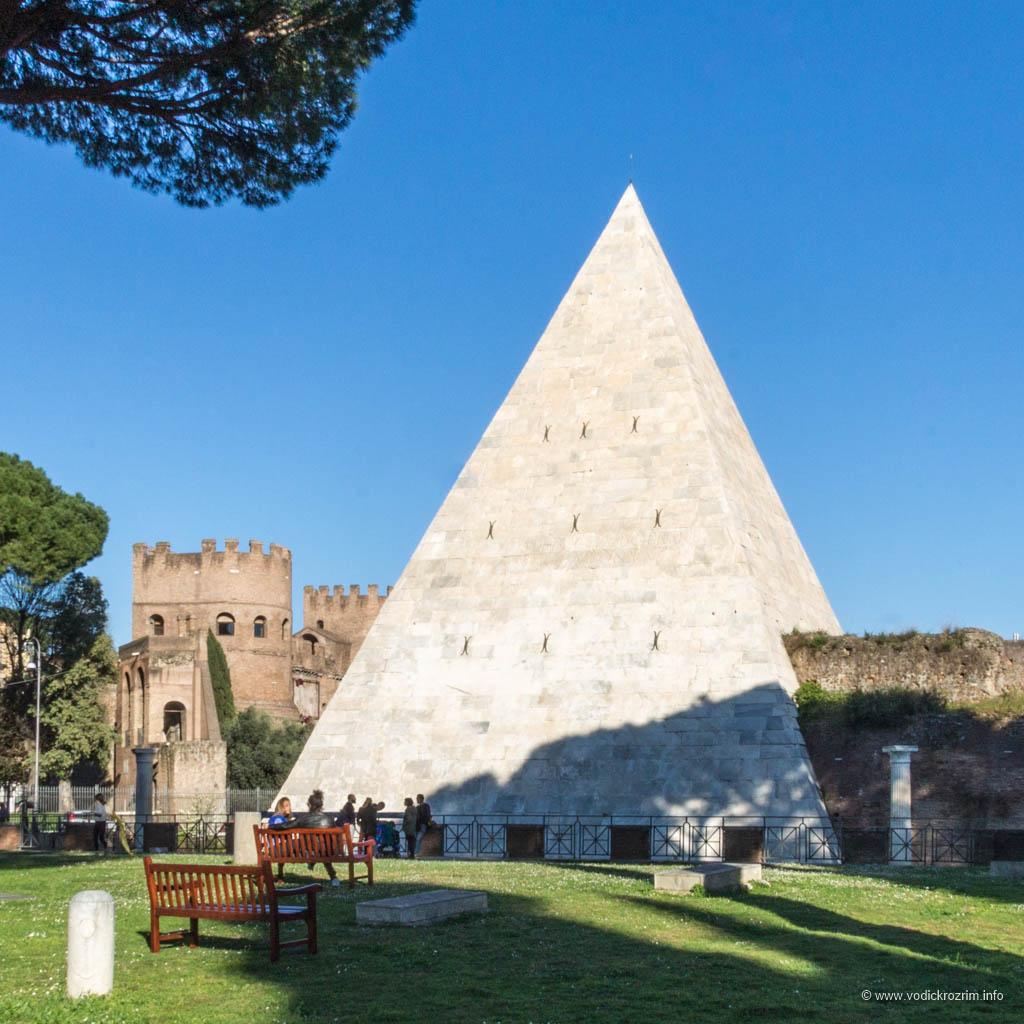 Cestijeva piramida u Rimu – duh Egipta u prestonici Italije
