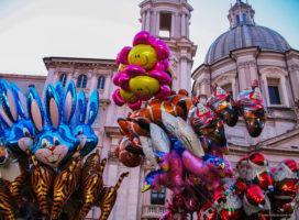 Trg Navona u Rimu - božićni sajam