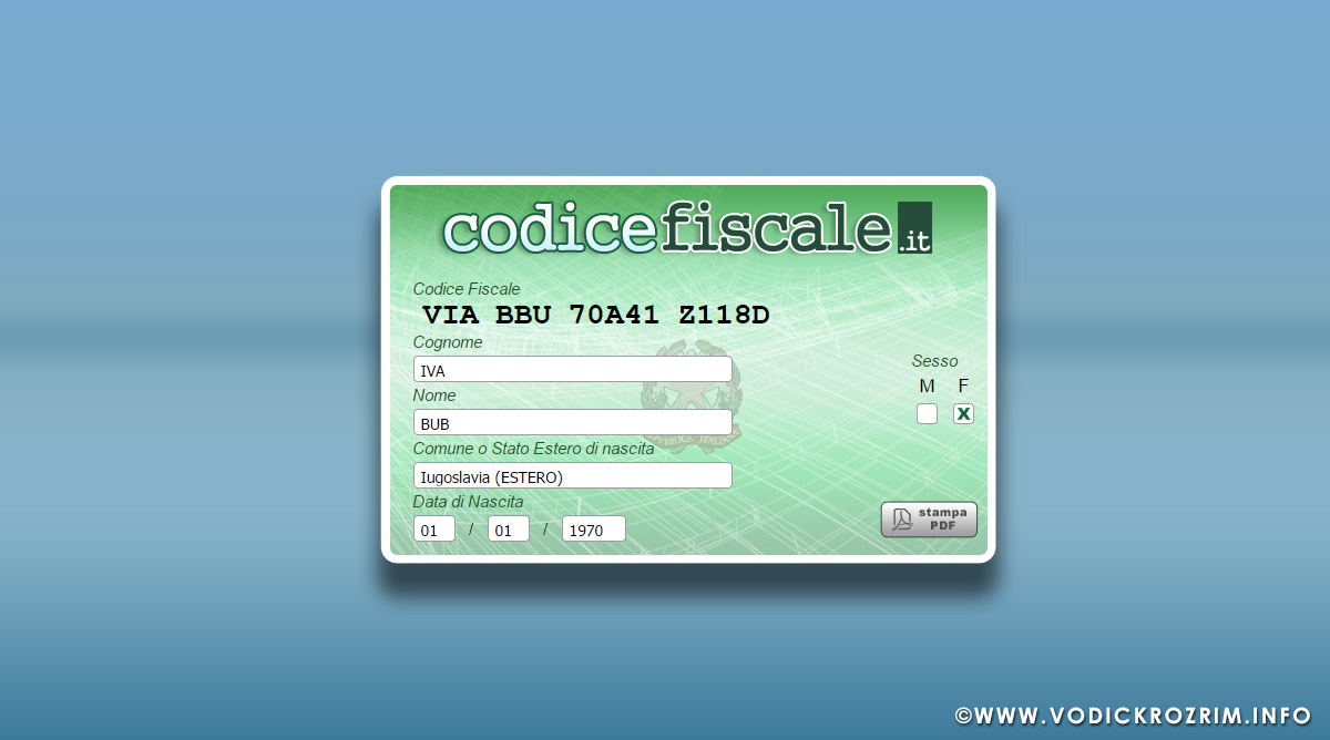 Kako dobiti poreski broj u Italiji