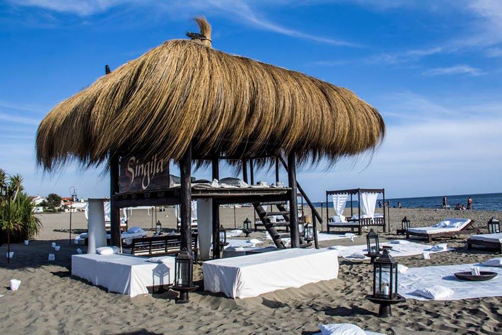 Plaža Singita Fregene (foto www.singita.it/Facebook)