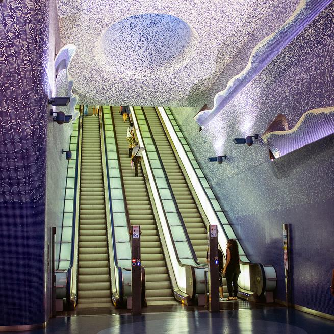 Gradski prevoz u Napulju – umetnost na stajalištima metroa