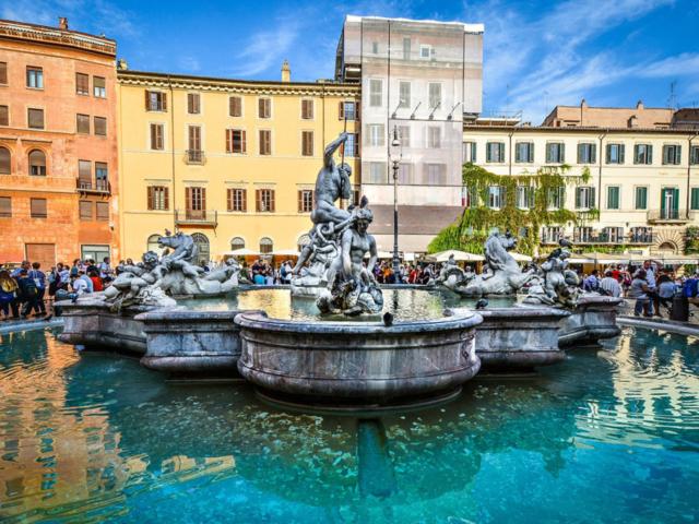 Trg Navona - Neptunova fontana