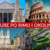 Ture po Rimu i okolini