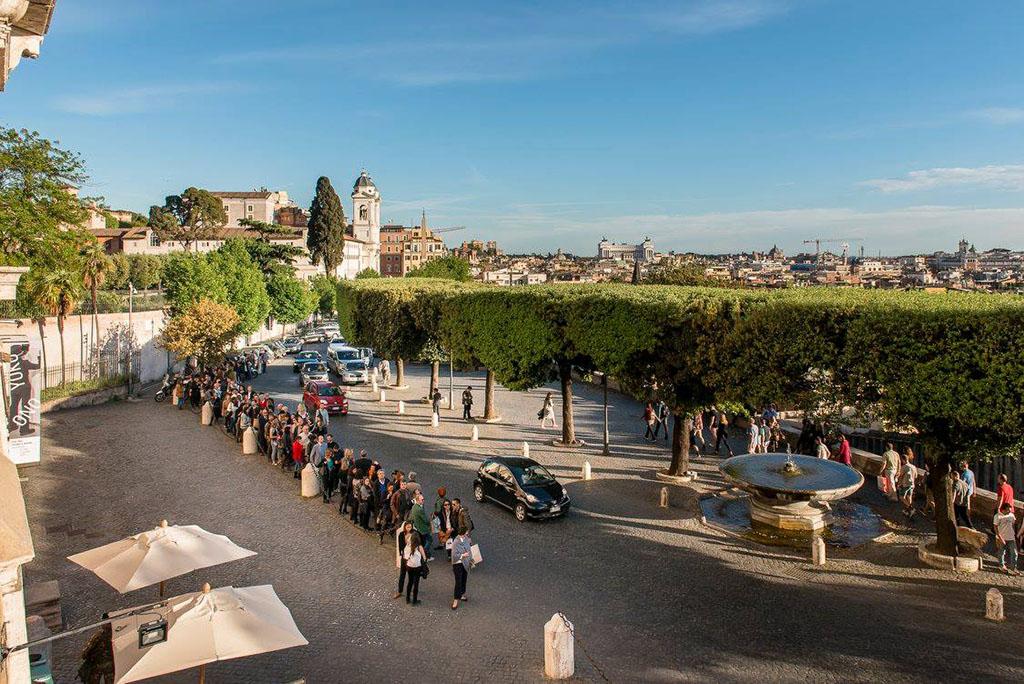 Neobične fontane Rima - Vila Medići