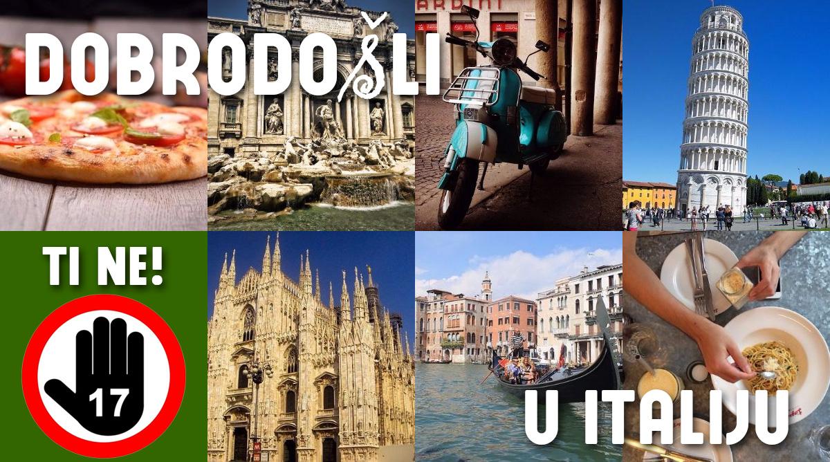 Zanimljivosti o Italiji: šta je Italijanima skrivio broj 17?