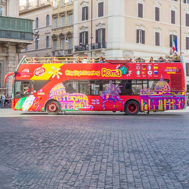 Obilazak Rima autobusom: top 5 Hop on – Hop off linija