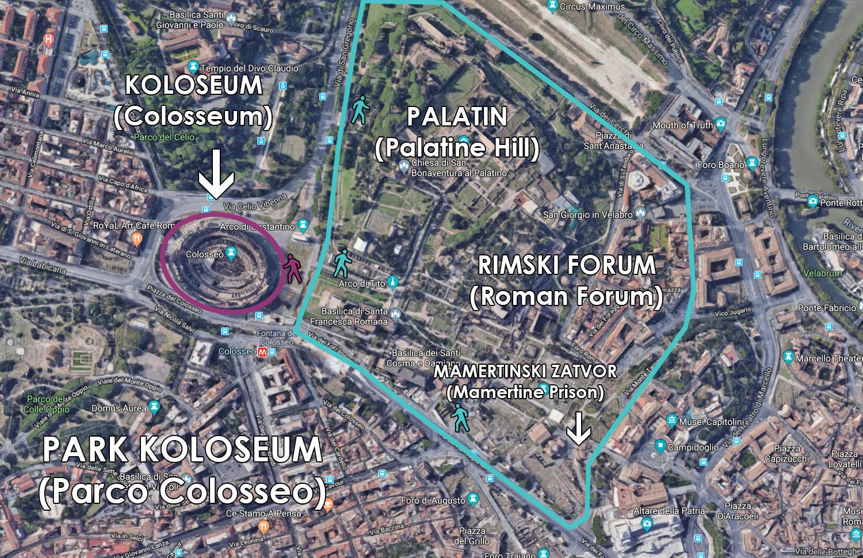 Rimski forum i Palatin