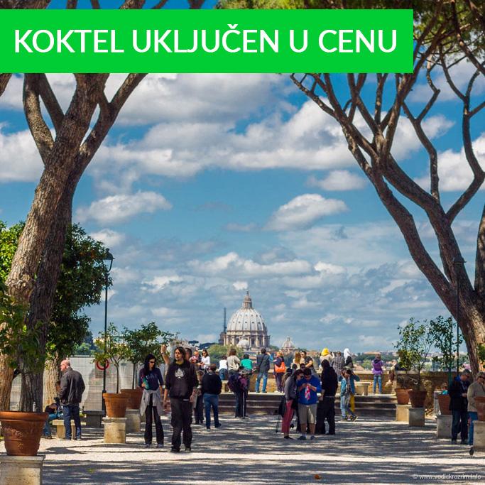 Park pomorandži i Trastevere
