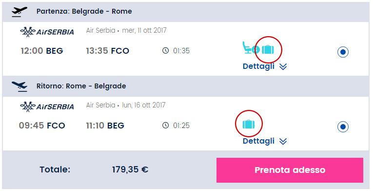 Jeftine karte do Rima