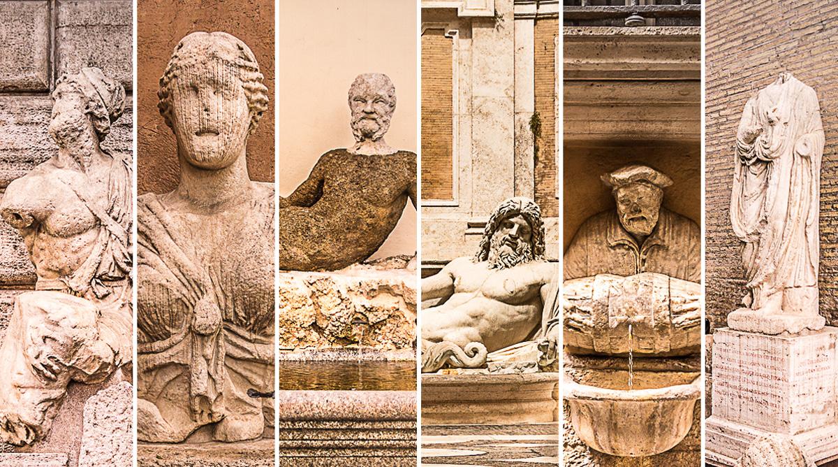 Statue koje govore (foto: Ivana Bubanj/Vodič kroz Rim)